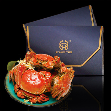 1188 B型 公蟹3.5两, 母蟹2.5两