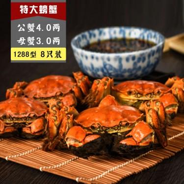 1288 C型 公蟹4.0两, 母蟹3.0两