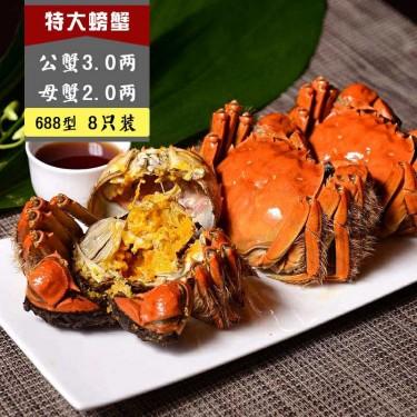 688 A型 公蟹3.0两, 母蟹2.0两